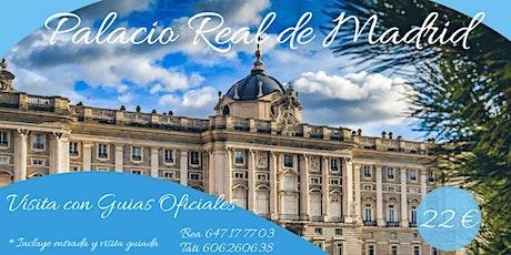 VISITA GUIADA al PALACIO REAL con GUIA OFICIAL entradas