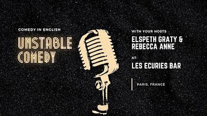Unstable Comedy 6: Live at Les Ecuries billets