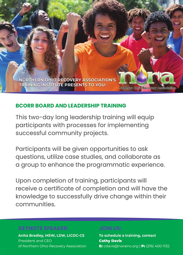 Cleveland BCORR Leadership Training  (Free) image