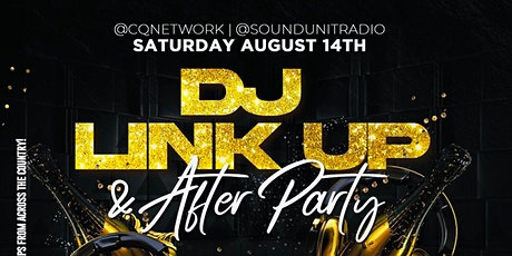 CQ Network & Sound Unit Radio DJ Link up and After party tickets