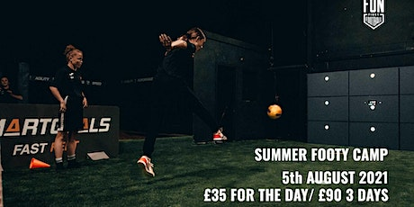 Summer Soccer Camp Liverpool 5th August tickets