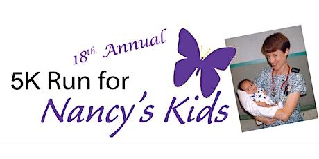 5K Run/Walk for Nancy's Kids 2021 tickets