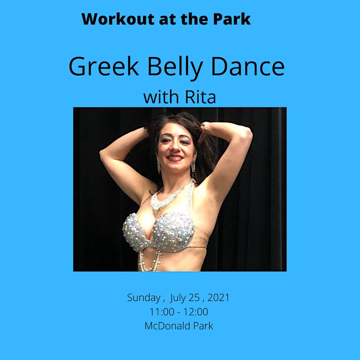 Belly Dance Workout at the Park image