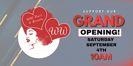 WW Hair and Beauty Supply Grand Opening! 5701 W. Monee Manhattan Rd tickets