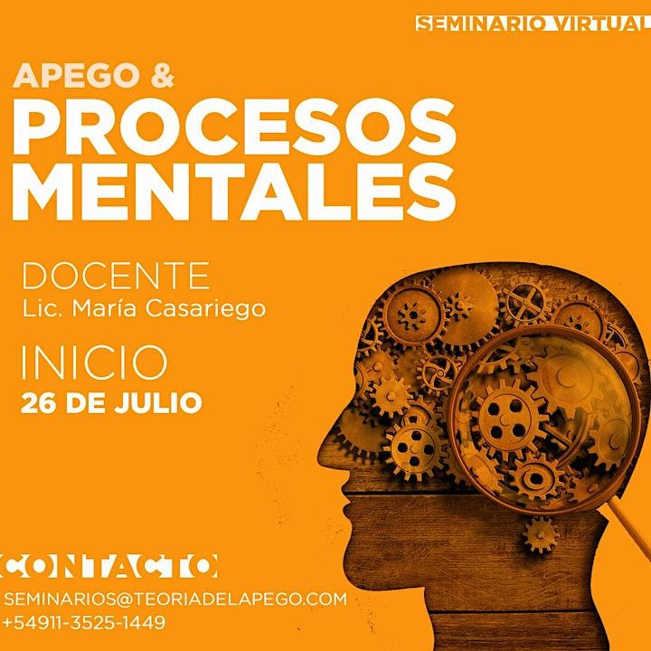 Imagen de Apego & Procesos Mentales