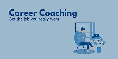 Career Coaching Webinar - Getting your dream job tickets