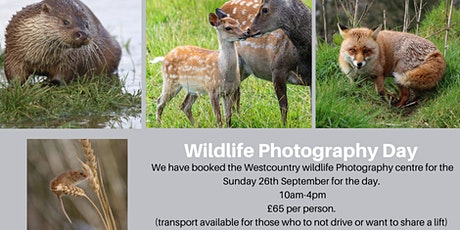 Wildlife Photography Day - September tickets