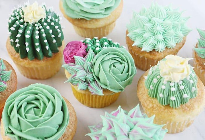 """""""Classy Cupcakes &  Chic Champagne """" - A cupcake decorating 101! image"""