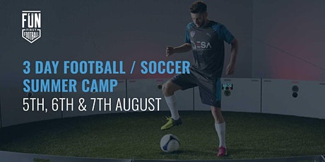 3 Day Summer Soccer Camp Liverpool tickets