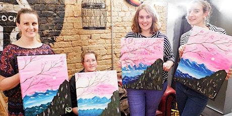 Sakura Sunset Brush Party - Gloucester tickets