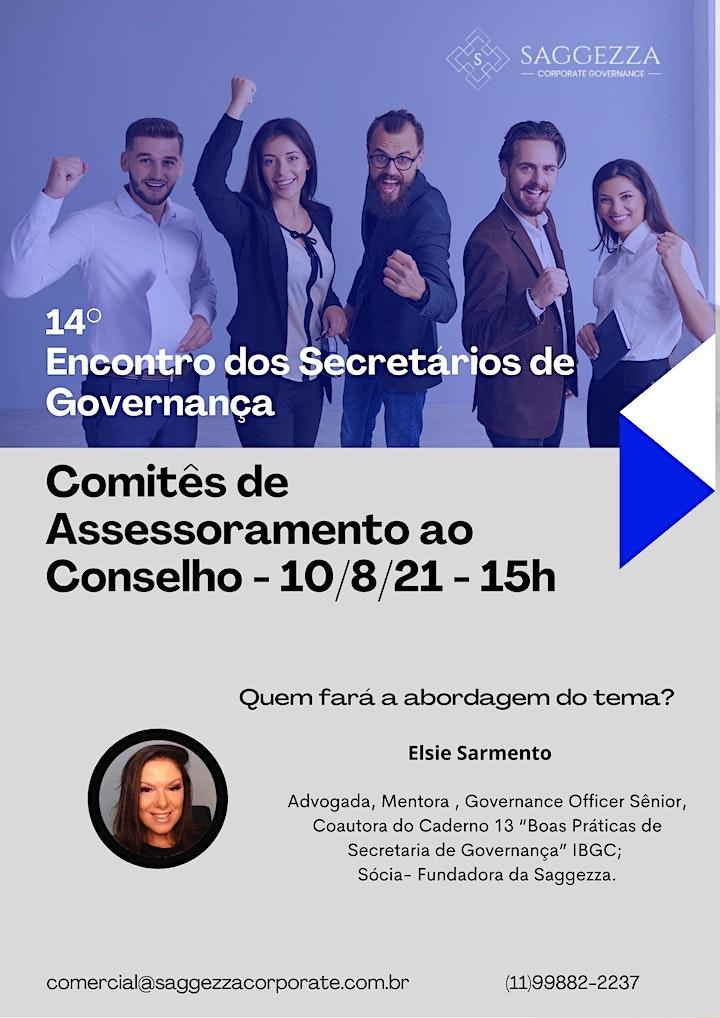Imagem do evento 14° ENCONTRO DOS SECRETÁRIOS DE GOVERNANÇA