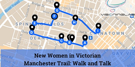 """""""New Women"""" in Victorian Manchester Trail: Walk and Talk tickets"""
