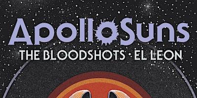 Apollo Suns live at the Park w/ The Blood Shots & El Leon