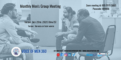 Monthly Men's Group Meeting tickets