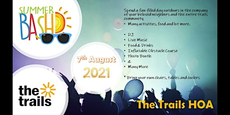 The Trails - Summer Bash tickets