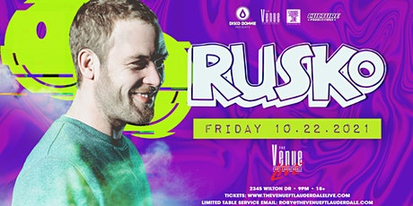 Rusko // 10.22 // The Venue Fort Lauderdale Live tickets