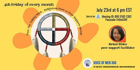 Pass The Talking Stick - Indigenous Peer to Peer Support Group tickets