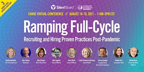 #TheCandEs Virtual Conference: Ramping Full-Cycle Recruiting and Hiring tickets
