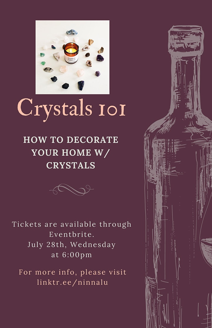 Crystals 101 | How To Decorate Your Home With Crystals image