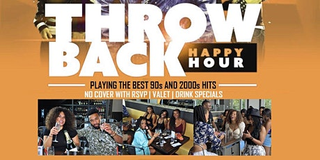 DFWs THROWBACK  30+ FRIDAY HAPPY HOUR tickets