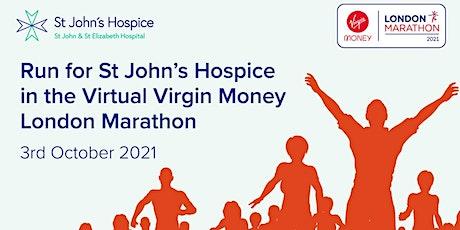 Virtual London Marathon - St John's Hospice London Charity Places tickets