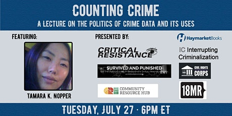 Counting Crime: A Lecture on the Politics of Crime Data and Its Uses tickets
