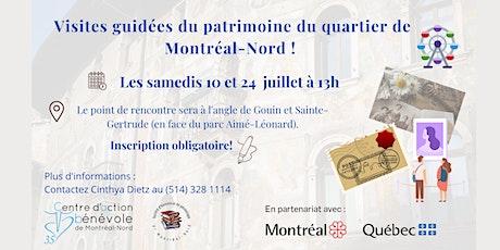 Visites guidées du patrimoine du quartier de Montréal-Nord ! tickets