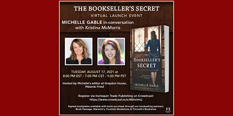 The Booksellers Secret with Michelle Gable and Kristina McMorris tickets