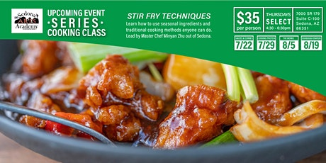 Stir Fry Cooking Class - THE SERIES tickets