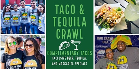 2nd Annual Taco & Tequila Crawl: Cincinnati tickets