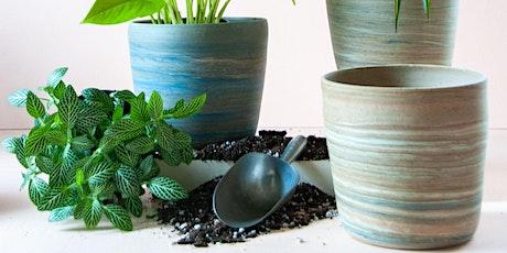 Tropical Planting Workshop featuring Milkweed Ceramics! tickets