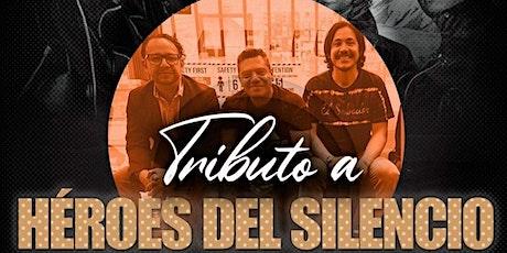 """Amapola Retro presenta """"Heroes Del Silencio """" el tributo tickets"""