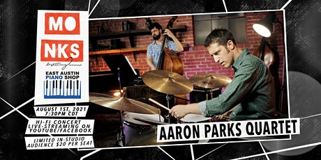 Aaron Parks Quartet - Livestream Concert w/In-Studio Audience tickets