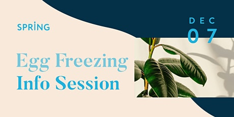 Egg Freezing Info Session (In Person) tickets