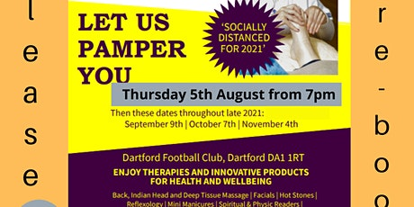 Wellbeing Link Pamper Evening and Gift Fair tickets