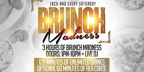 Brunch Madness   3 Hour Brunch at Dorsett   Every Saturday tickets