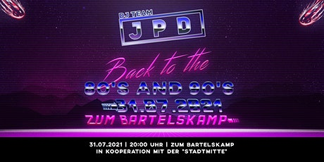 Back to the 80´s and 90´s Party Tickets