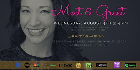 Meet, Greet, and Mingle with Karissa Adkins tickets