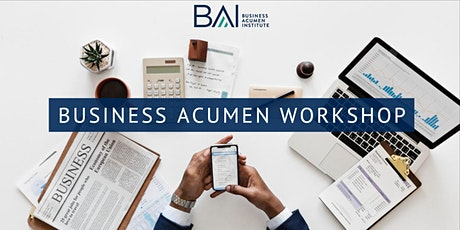 Business Acumen In-Person Public Workshop tickets