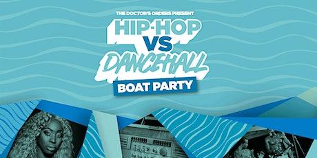 Hip-Hop vs Dancehall Boat Party tickets