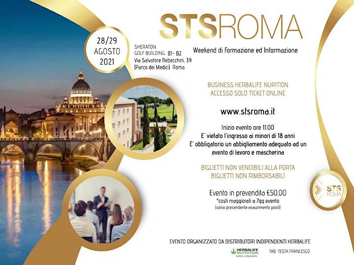 Immagine STS ROMA Agosto | Weekend di Formazione BUSINESS Herbalife Nutrition