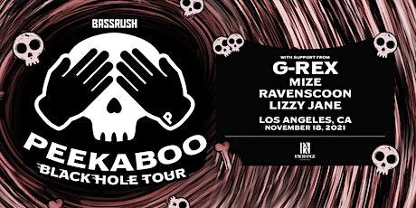 Peekaboo: Black Hole Tour tickets