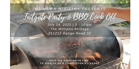 MSCC M3 (Men's Ministry) -  Tailgate Party and Cook-off tickets
