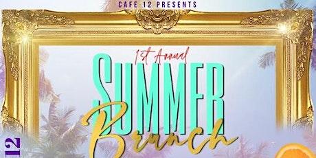 Summer Brunch @ Cafe12 tickets