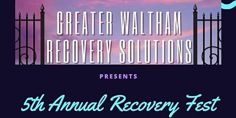 5th Annual Recovery Fest tickets