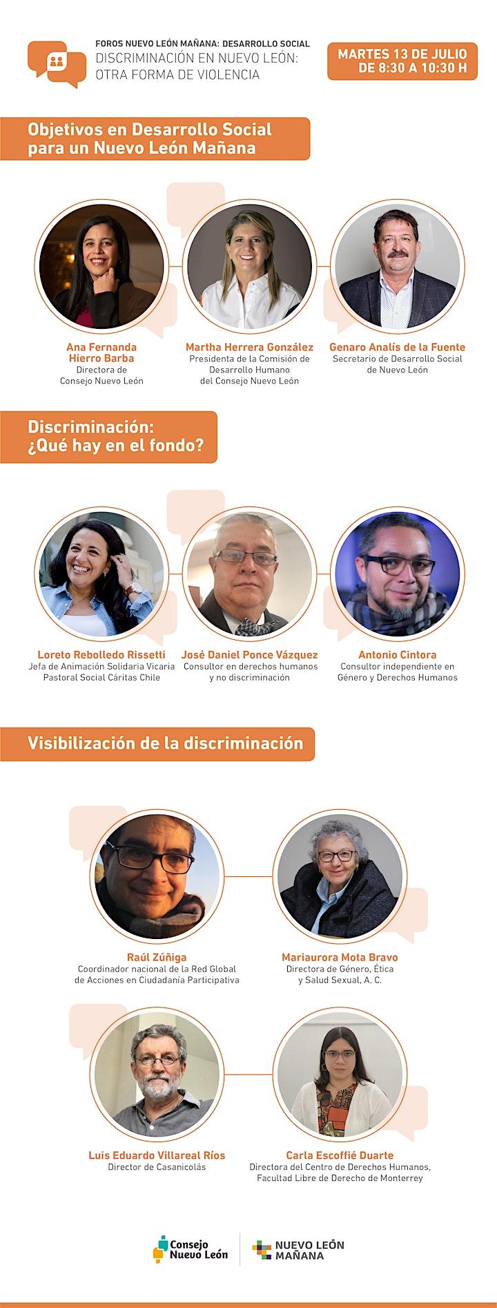 Imagen de Foros Nuevo León Mañana: D. Social -Discriminación, otra forma de violencia
