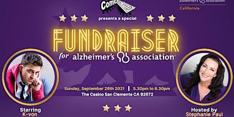 Comics Unzipped FUNdraiser for the Alzheimer's Association tickets