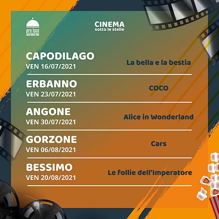 Immagine Cinema sotto le stelle 2021