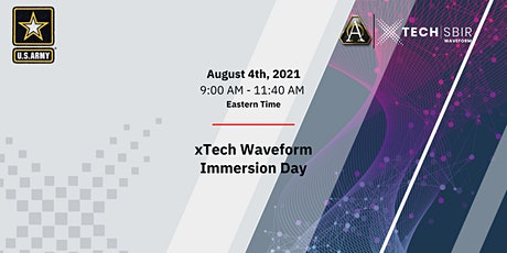xTech Waveform Immersion Day tickets