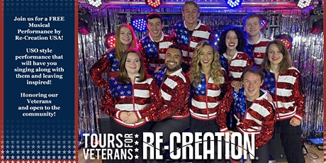Re-Creation USA Musical Performance tickets